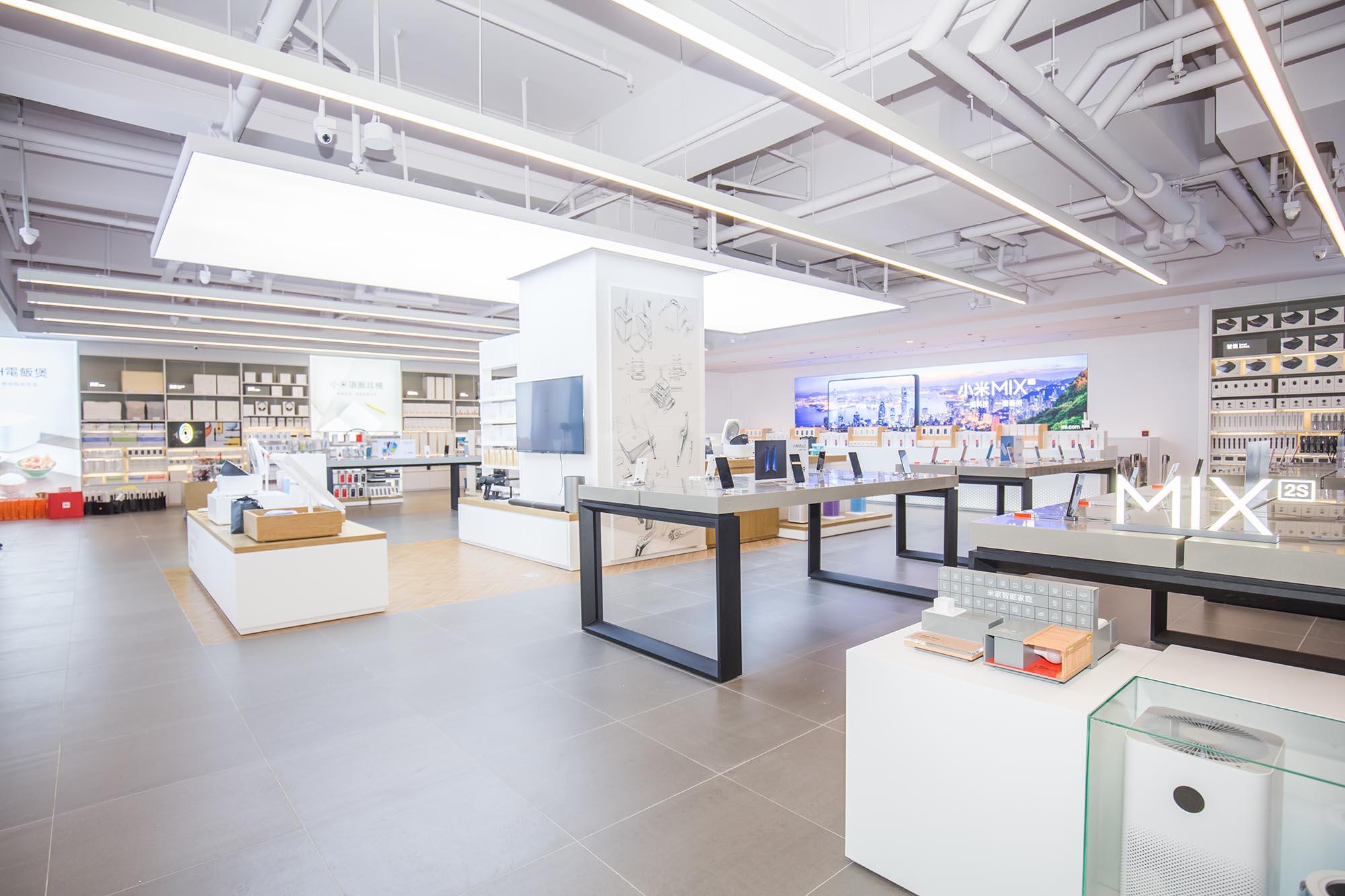 小米之家創興廣場店開幕  智能家居產品同時列陣