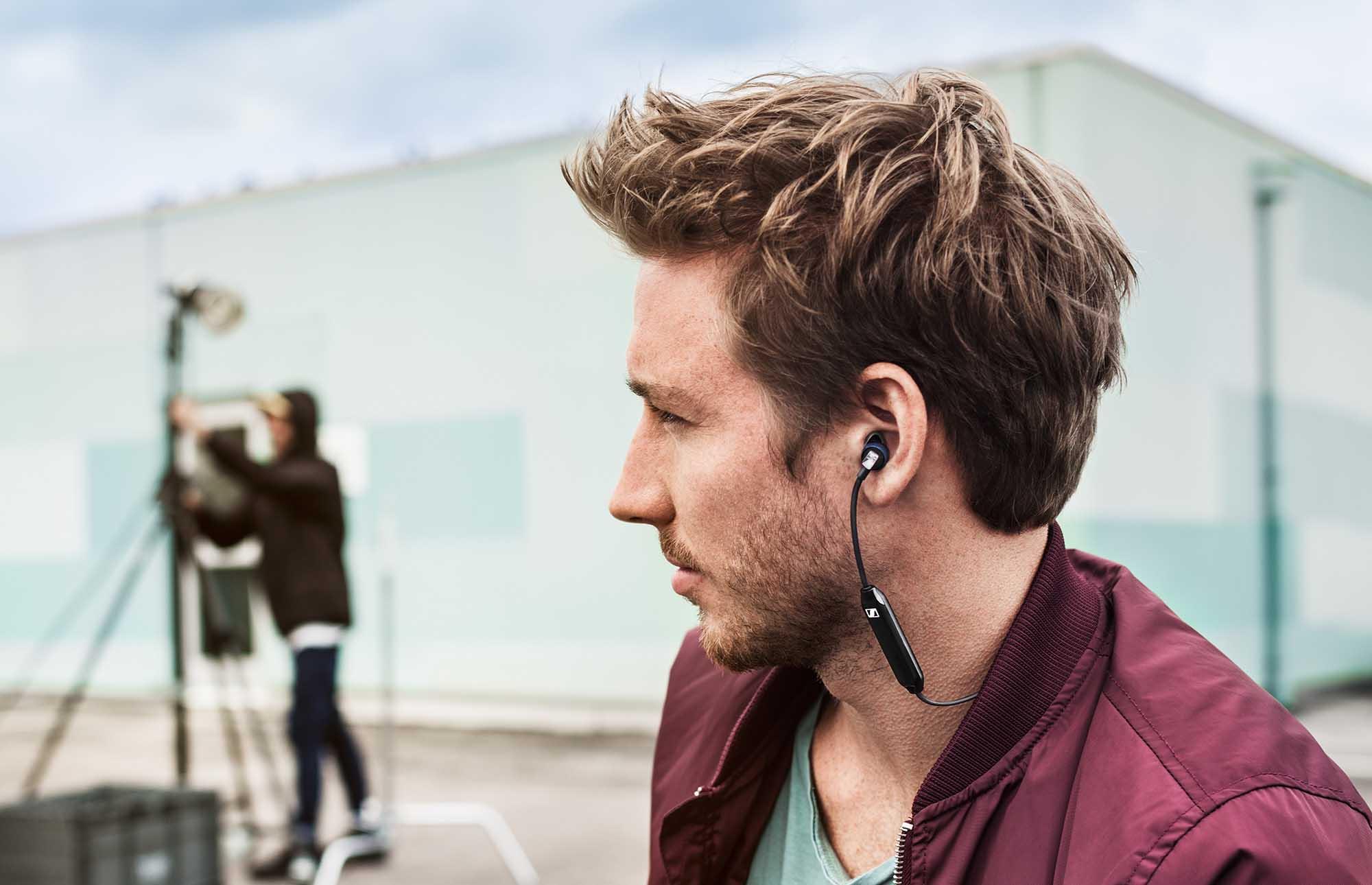 加強聲畫同步   Sennheiser CX 6.00BT 入耳式藍牙耳機