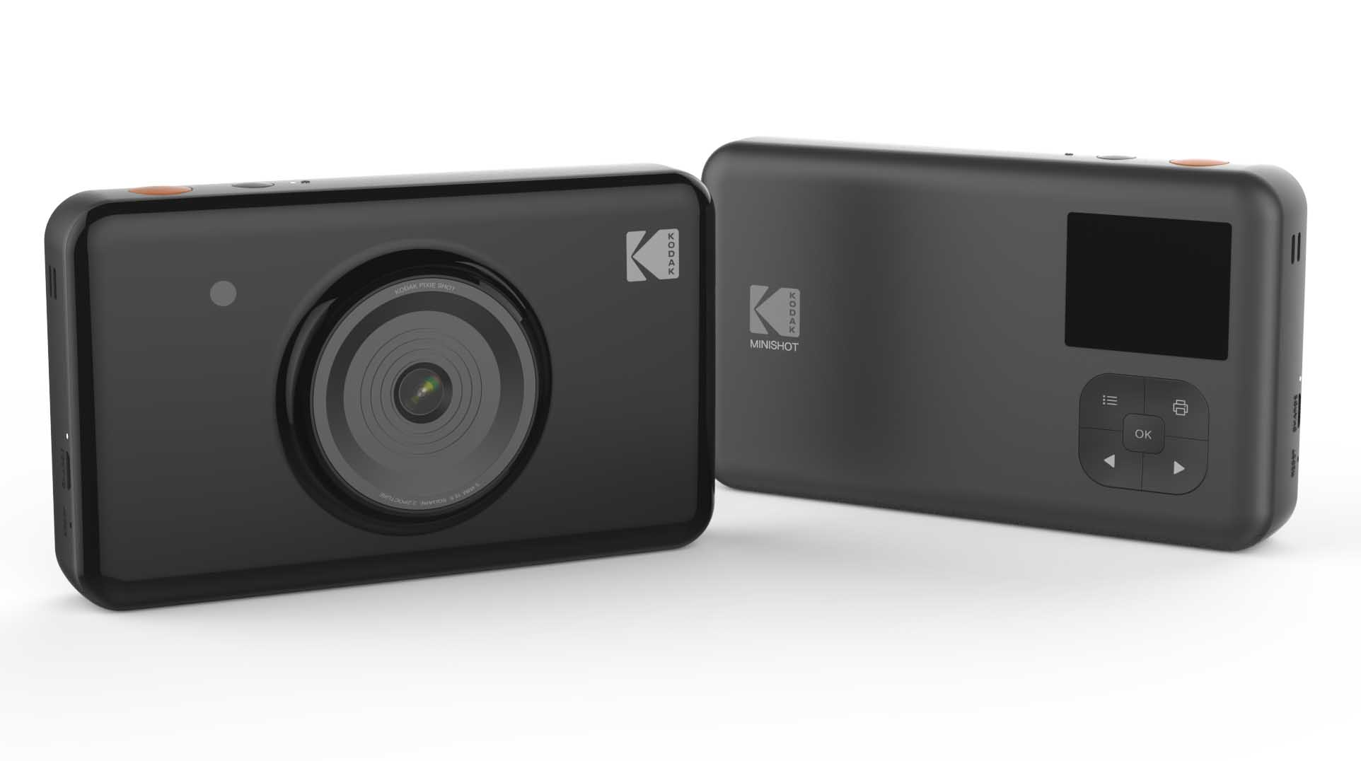 即影有相機 + 相片打印機   Kodak MiniShot MS210 一按即印