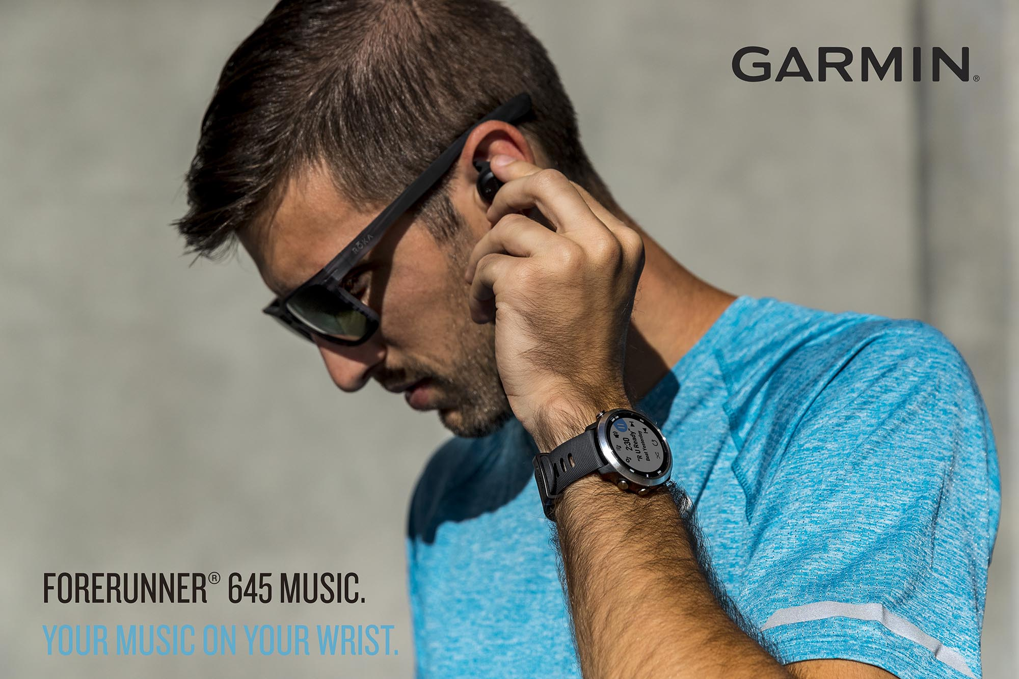 Garmin Forerunner 645 Music 進階功能  支援入歌跑步聽
