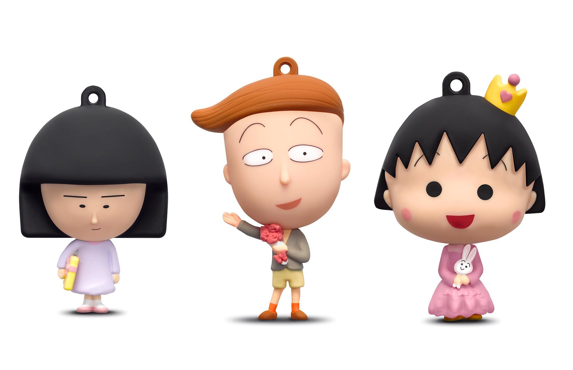 全新「 小丸子 3D 八達通配飾」慶祝小丸子生日快樂可愛登場