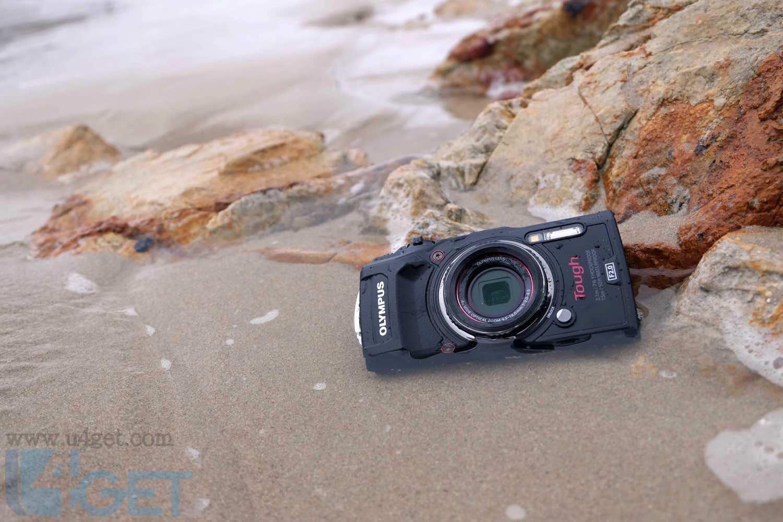 OLYMPUS Tough TG-5 沙灘實測  影相有驚喜水中拍片出色
