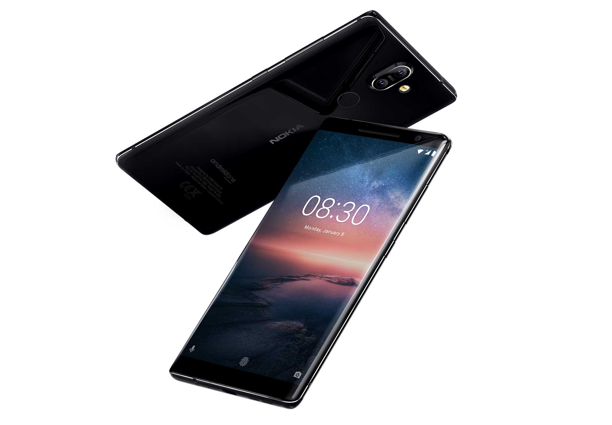 Nokia 8 Sirocco 強化版推出  新增 Qi 無線充電賣 HK$5,288