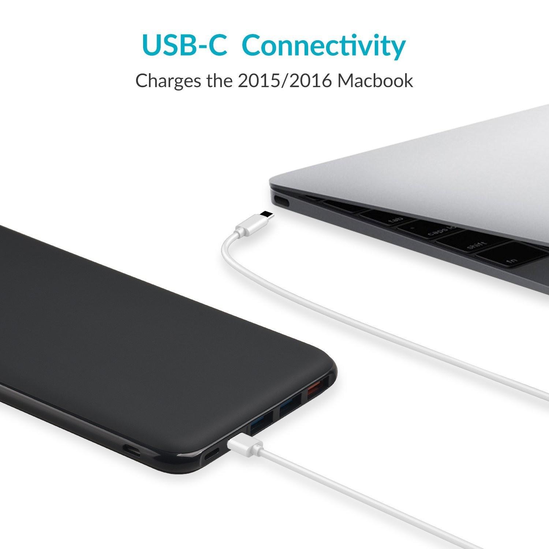 手機 / Macbook / Switch 三用外置電     Aukey 26,800mAh USB-C Power Bank
