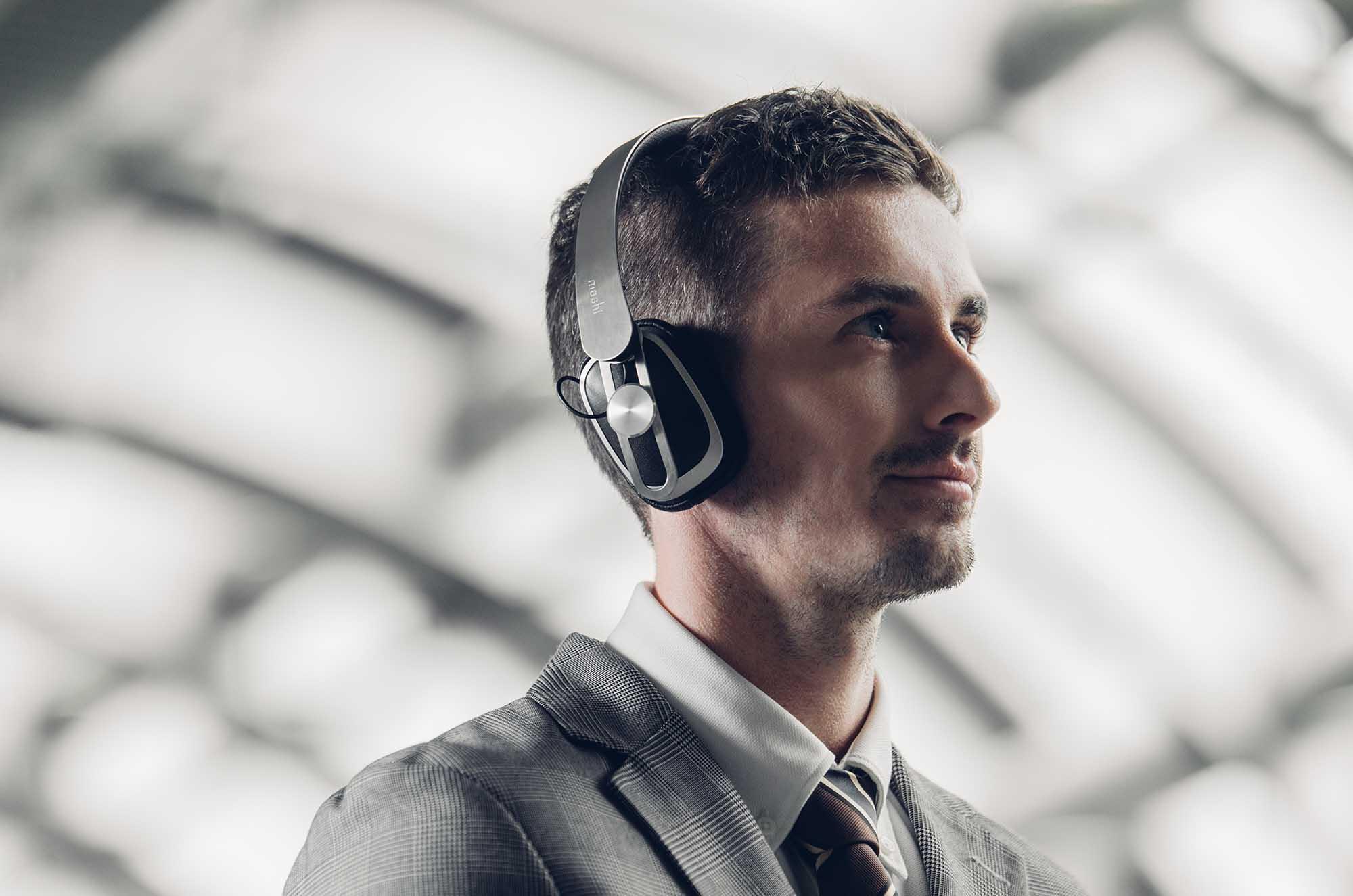 聽足 27 小時兼具 XR40 單元 Moshi Avanti Air 藍牙無線過頭式耳機