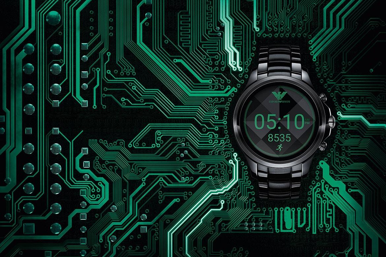 又一名牌推智能手錶  Emporio Armani Connected 首款 Android Wear 2.0 智能腕錶