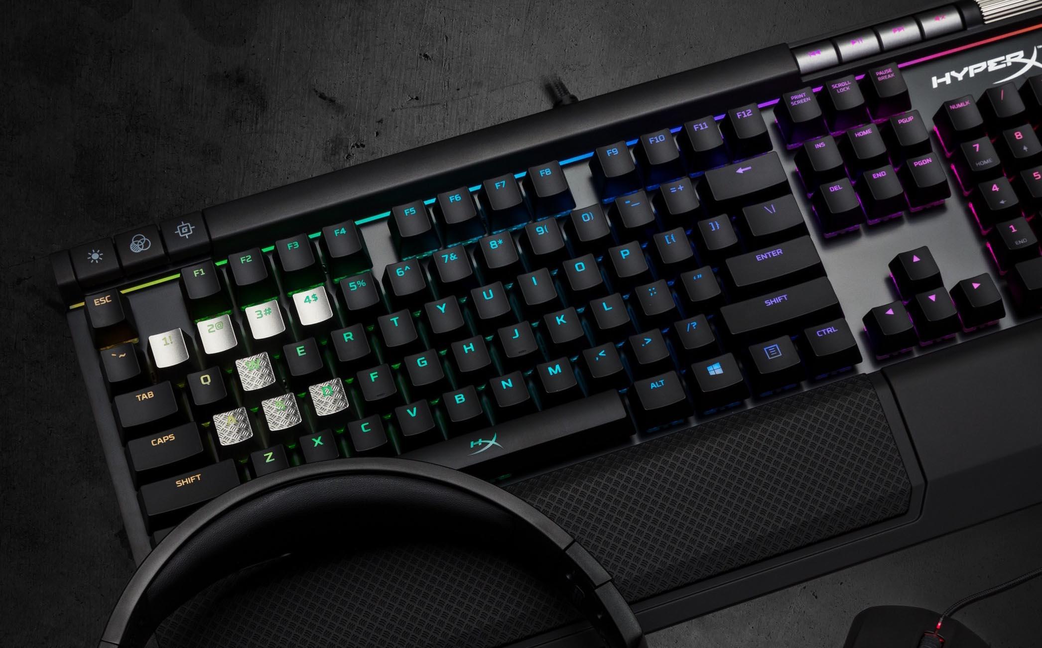 HyperX 全系列 RGB 電競周邊    Alloy FPS RGB 電競鍵盤現身