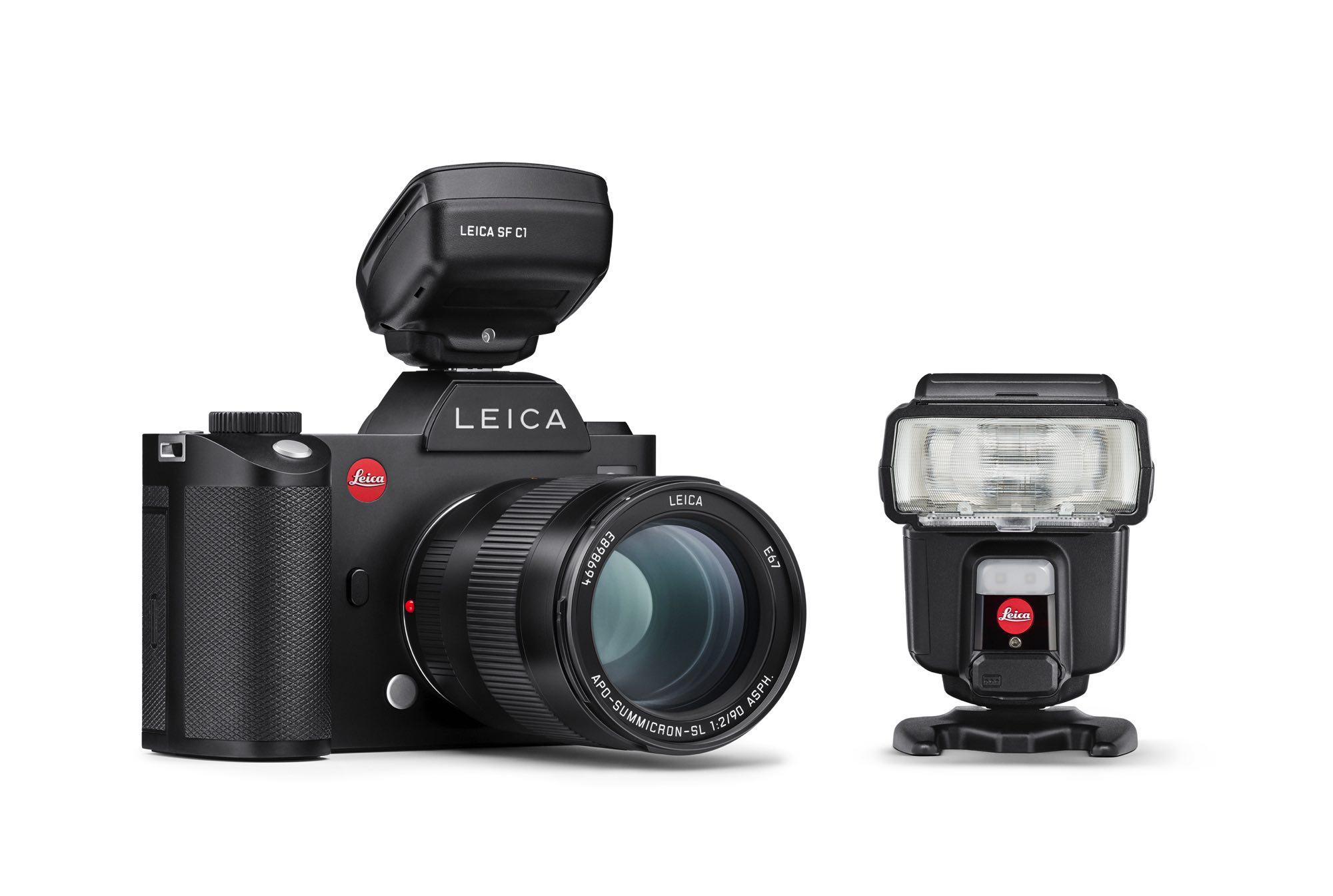 Leica 推全新閃光燈系統 SF60 閃光燈及 SF C1 無線閃光燈控制器