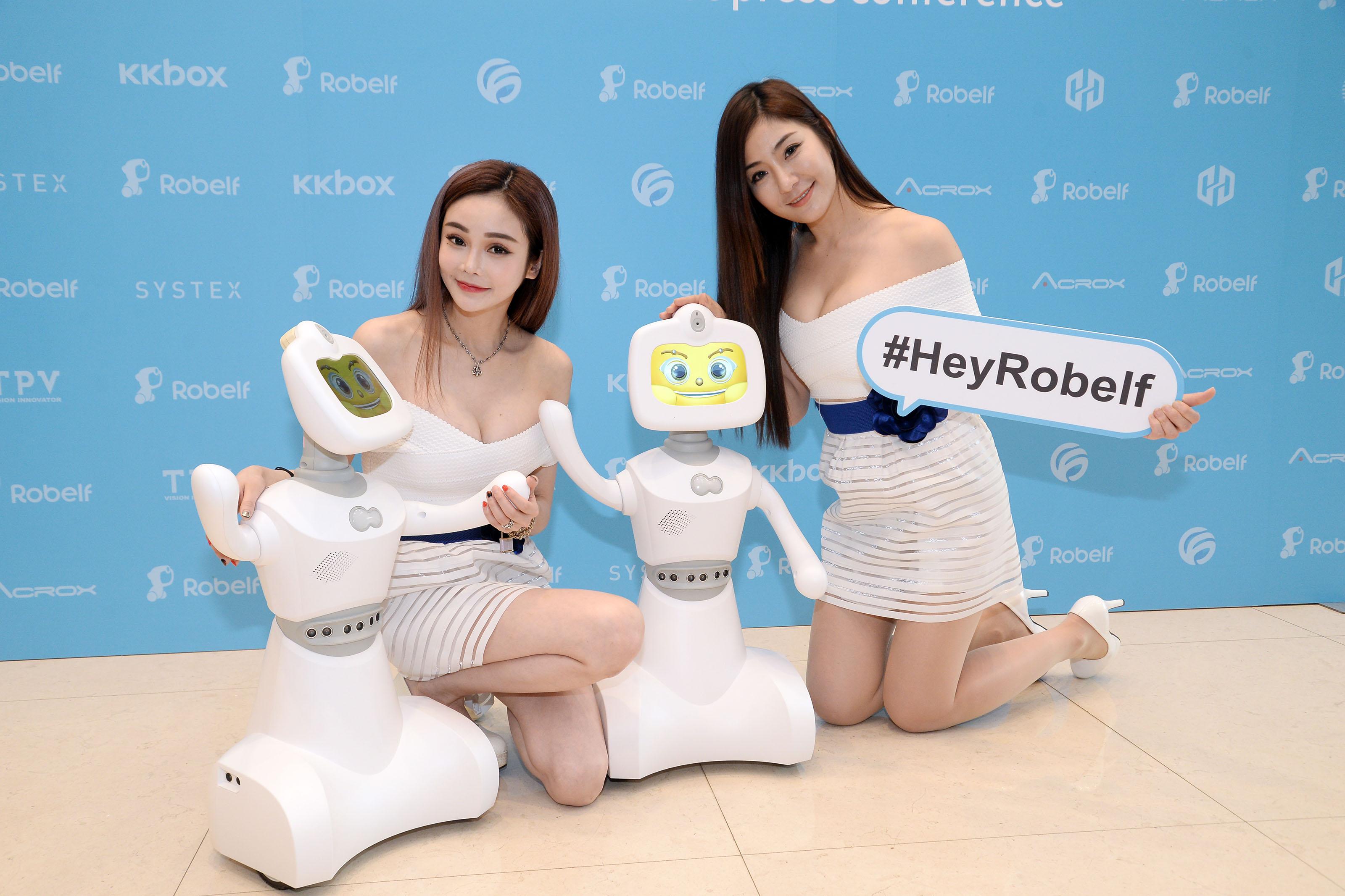 真正商用、家用人工智能機械人? Robelf 機械人 6 月量產上市