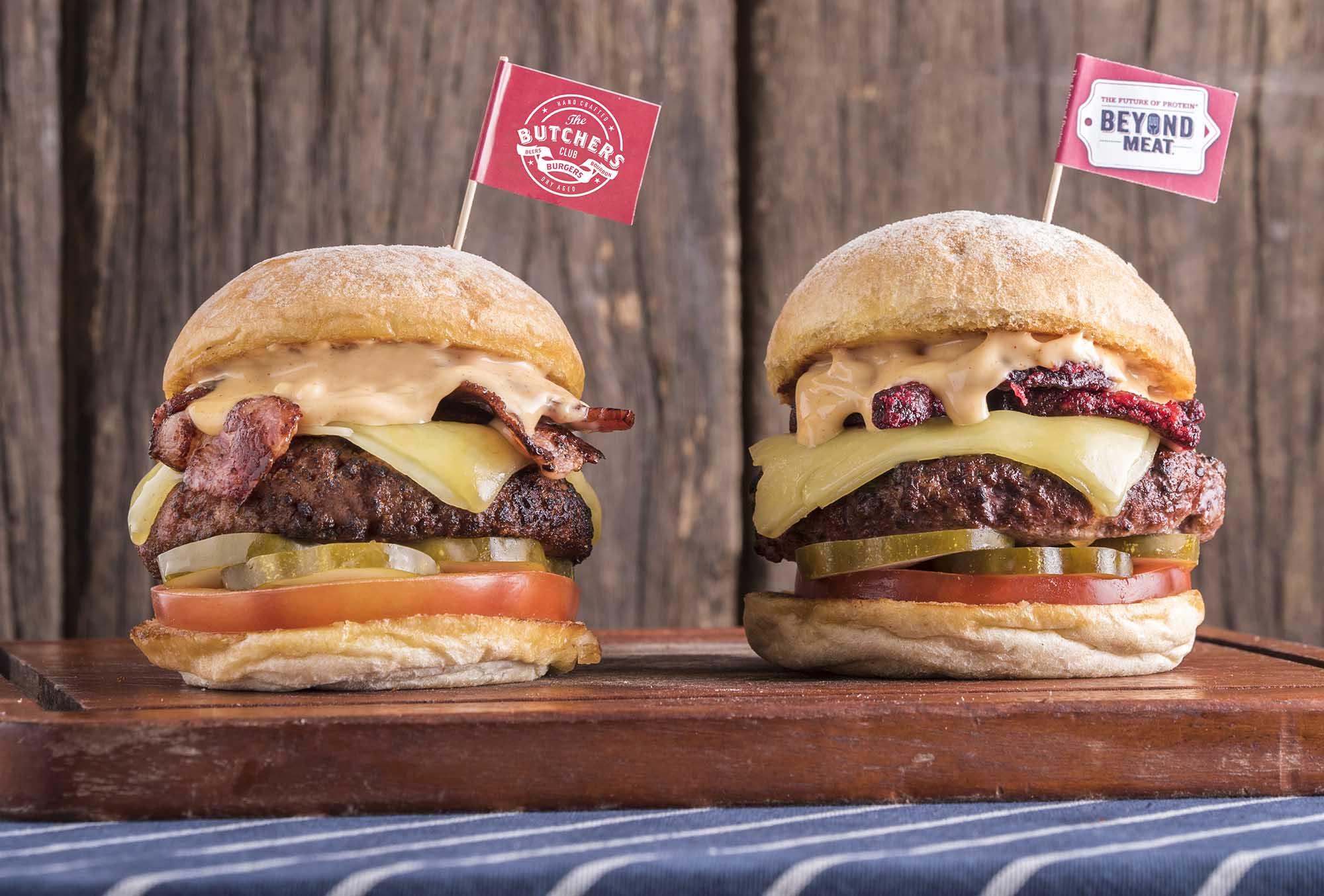 支持世界地球日 香港 The Butchers Club Burger 純素漢堡買一送一