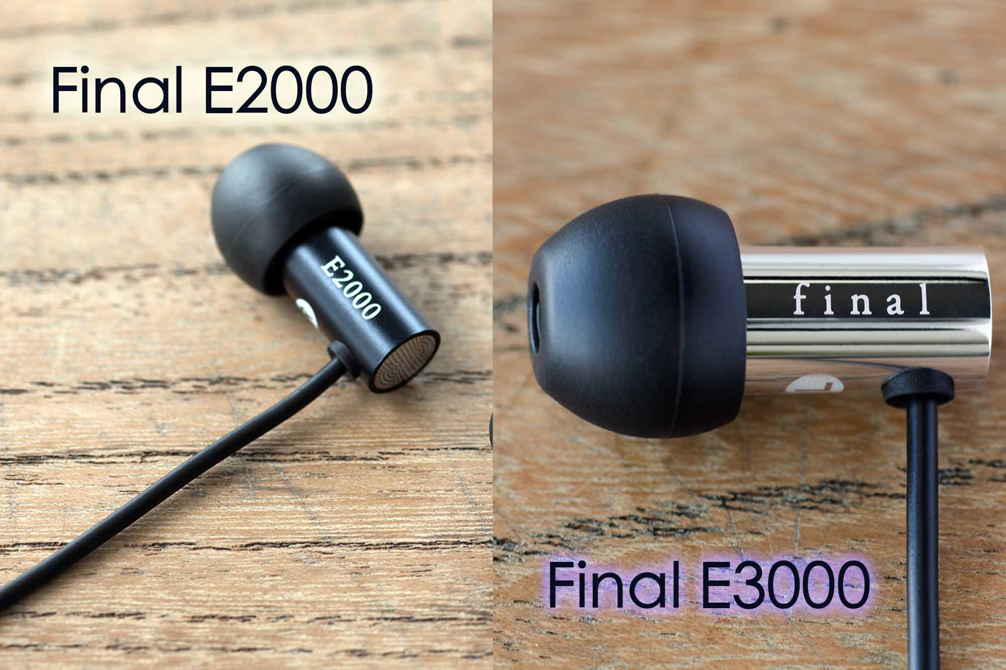 Final 推平價入門級耳機  Final E3000 / Final E2000 不足 HK$500