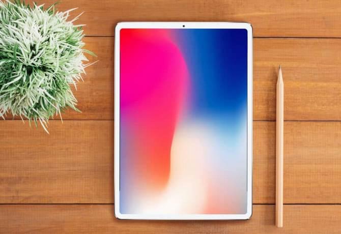 6 月傳聞推出新 iPad Pro  變身 iPhone X 飛走 home 鍵玩 Face ID