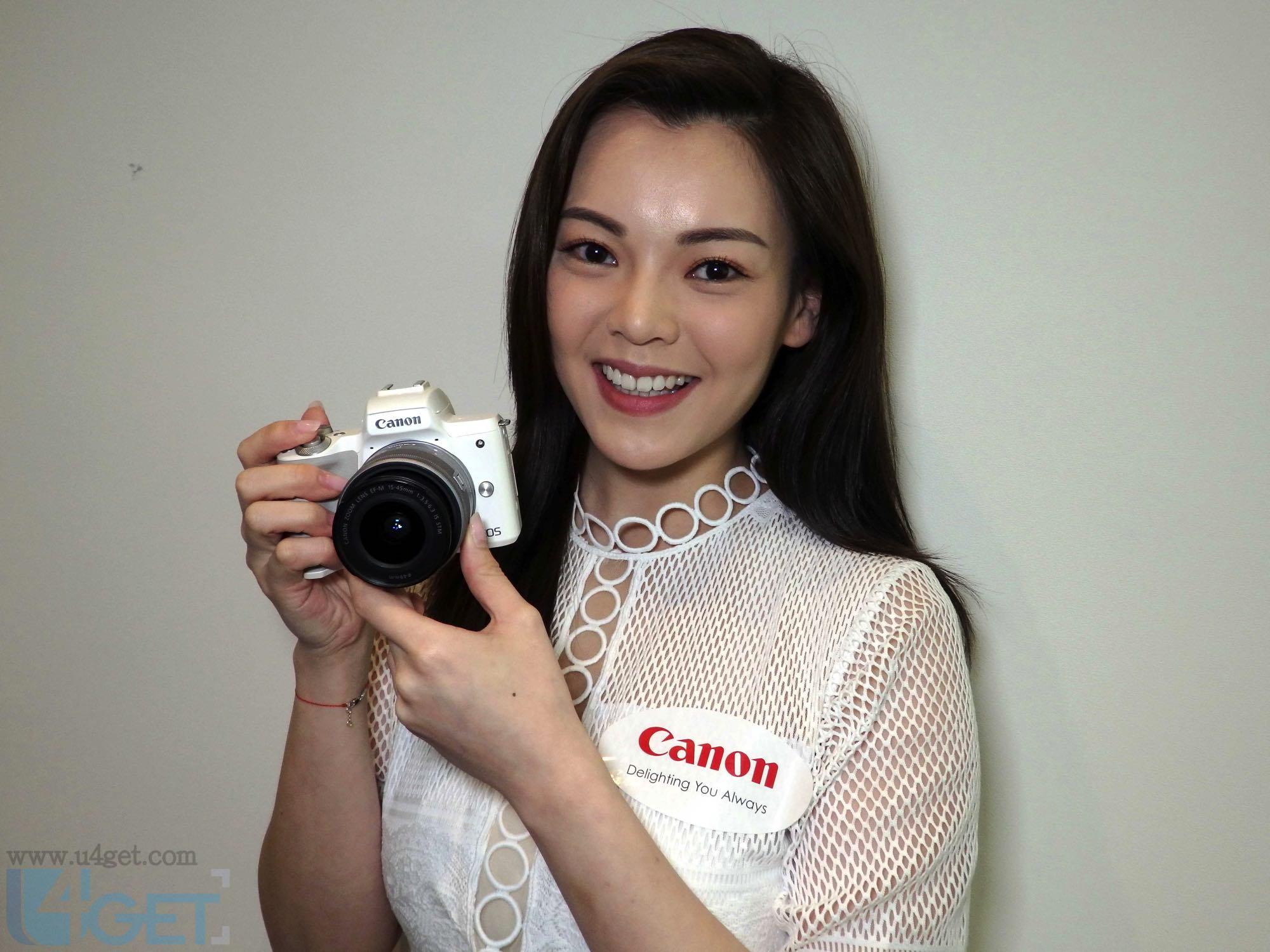 專為 VLOG / YouTuber 而設  Canon EOS M50 眼睛追蹤影人更靚