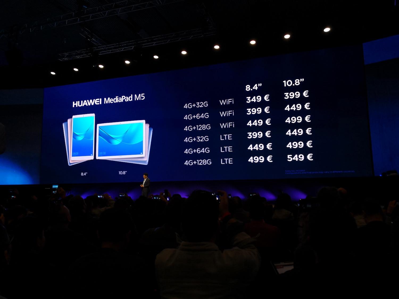 沒有手機只有電腦平板 Huawei 發布 MateBook X Pro / MediaPad M5 系列