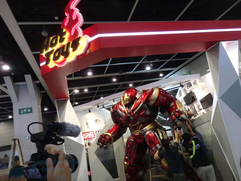 【 動漫節 2018 】 HOT TOYS 大型珍藏人偶展覽  MARVEL STUDIOS 十周年企劃《蟻俠2:黃蜂女現身》搶先發售
