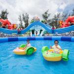 愉景灣水上恐龍歷險樂園  三星期暑假限定免費任玩