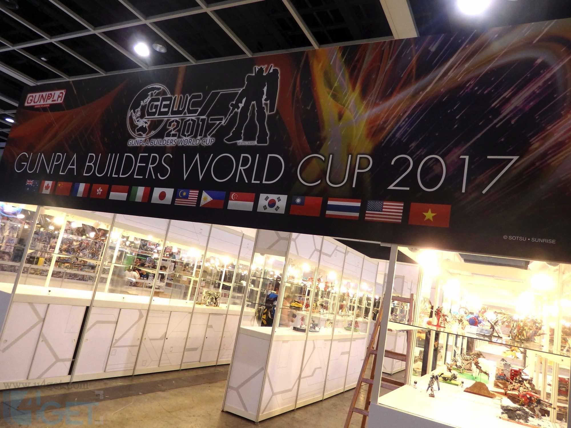 〔 動漫節 2017 〕 Gunpla Builders World Cup 2017 作品輯錄慢慢睇
