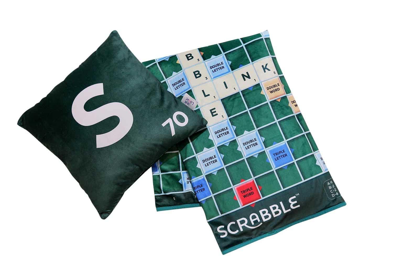 Scrabble 英文拼字遊戲面世 70 周年  領展限量版「 2合1毛毯咕𠱸 」