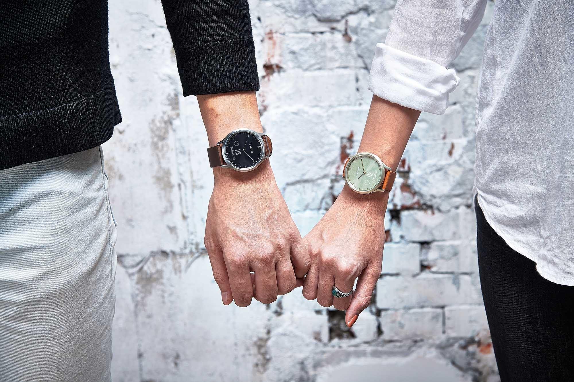 第二代觸控式指針智能手錶  Garmin Vívomove HR 睇得又跑得