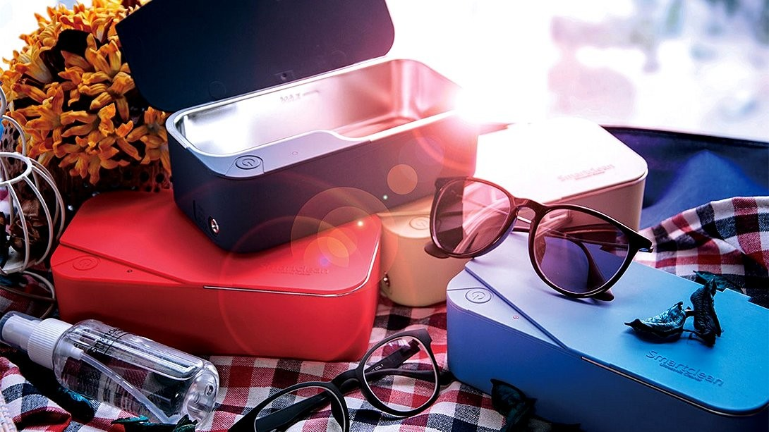 家用版 Smartclean 超聲波清洗機  清走眼鏡油膩灰塵立即變靚