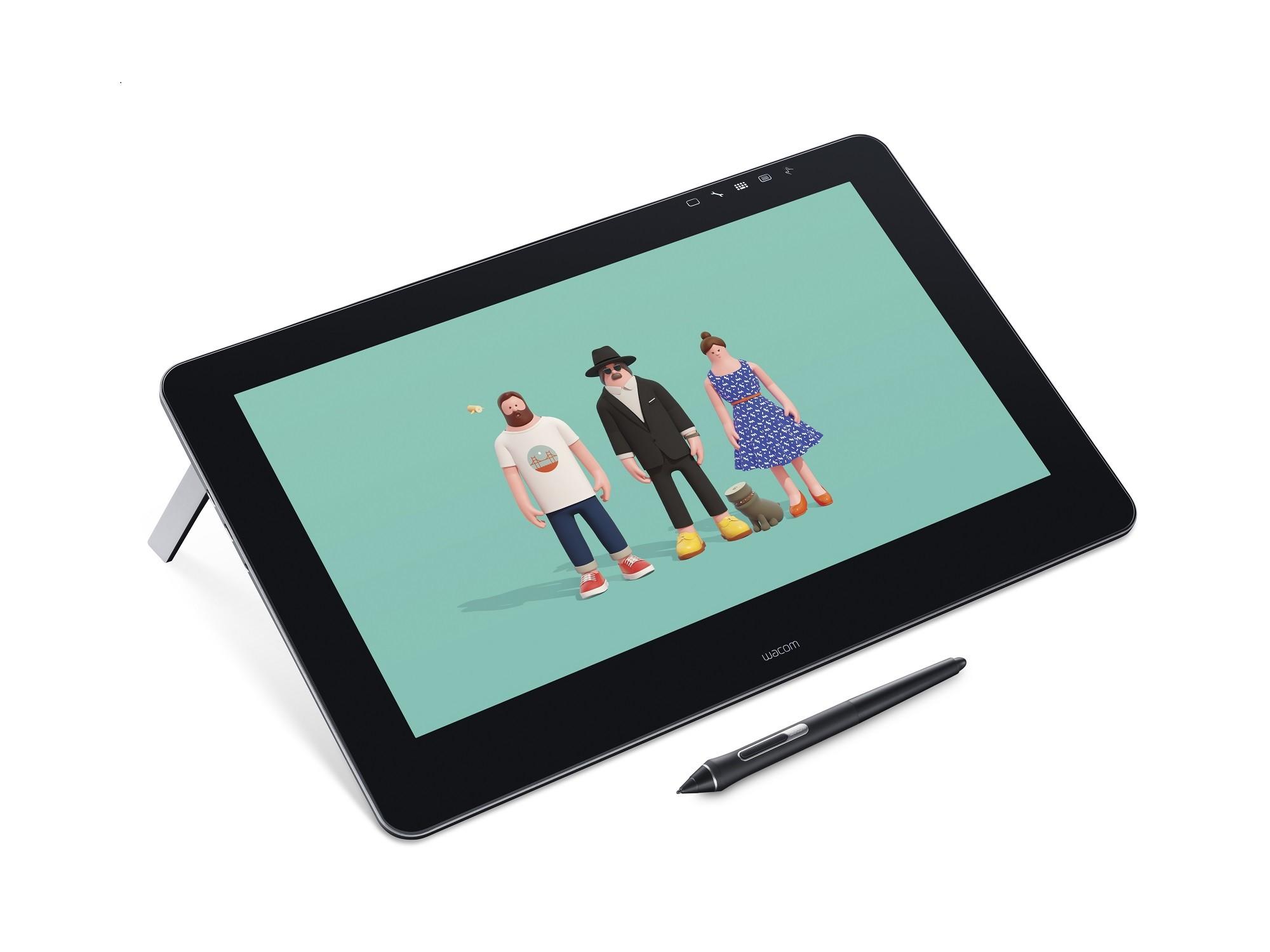 Wacom Cintiq Pro 16 繪圖屏幕  直接電子化繪畫感受