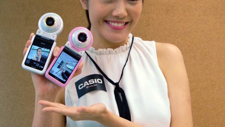 女性專用自拍 Action Cam  Casio EX-FR100L 長腿自拍神器