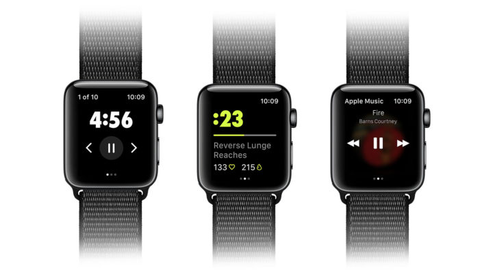 Nike Training Club APP 登陸 Apple Watch  手錶震動提示課程進度