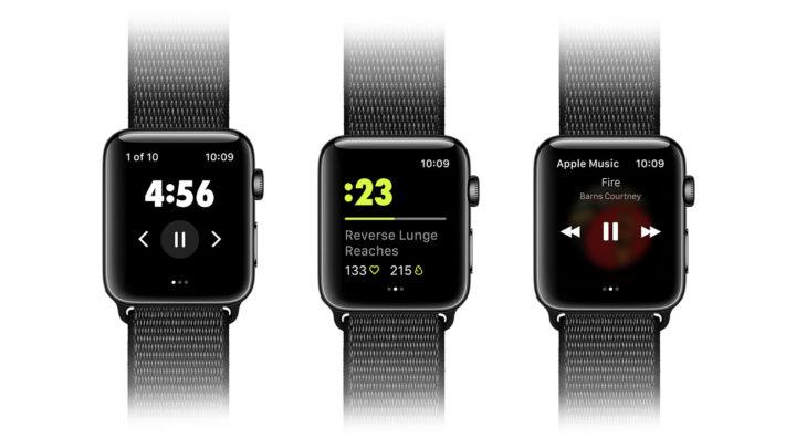 Nike Training Club APP 登陸 Apple Watch  手錶震動提示課程進度