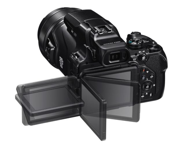 125 倍光學變焦天涯機   Nikon Coolpix P1000 超長 3000mm 影月球