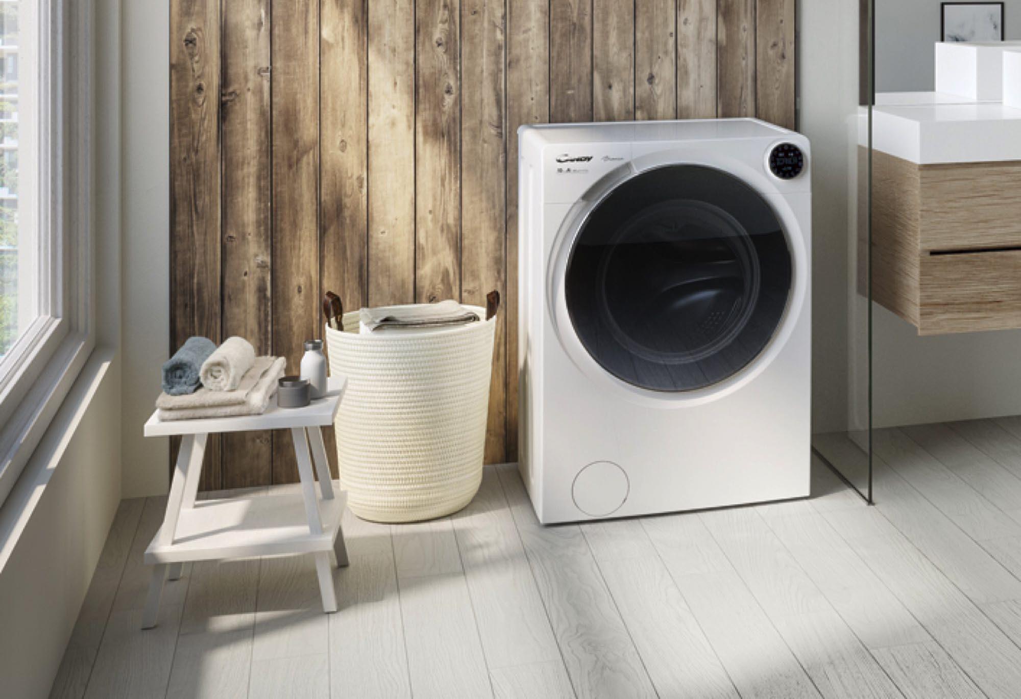真正用把口洗衫?  意大利 Candy 推出 SMART Fi 及 Bianca 智能洗衣機