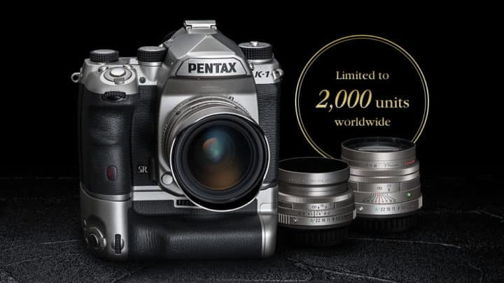PENTAX K-1 Limited Silver 銀色限量版 加推三公主限量版鏡頭