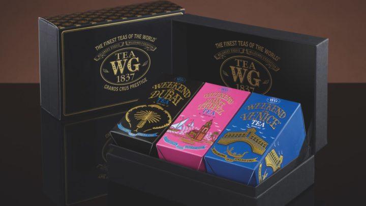 Tea WG 週末假期系列 十款調配茶品帶您味遊異國
