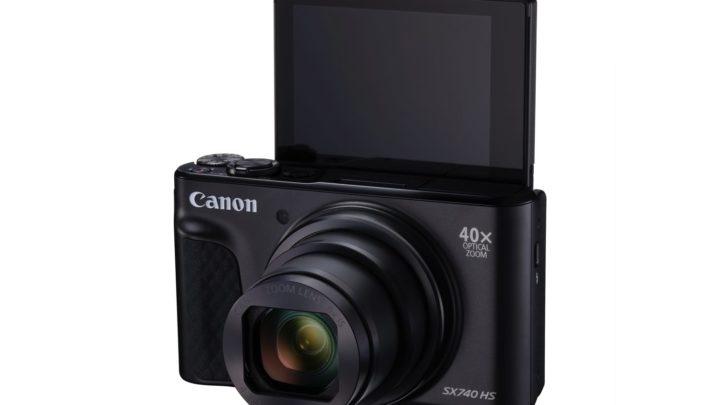 40 倍光學變焦兼數碼五軸防手震  Canon PowerShot SX740 HS 發布