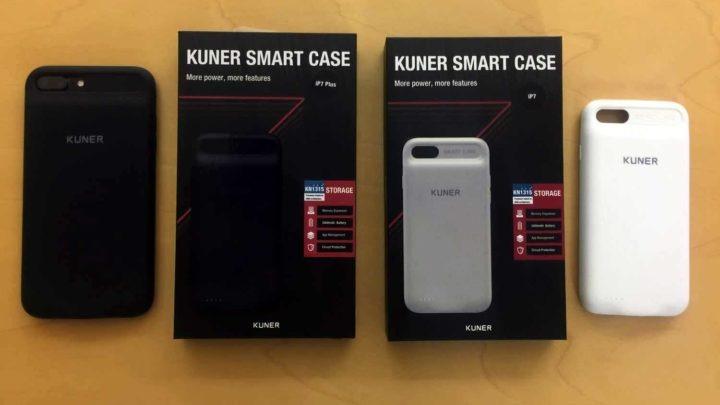 一個機殻有齊充電、擴充容量  Kuner iPhone 7 / 7 plus 充電保護殼滿足兩大願望