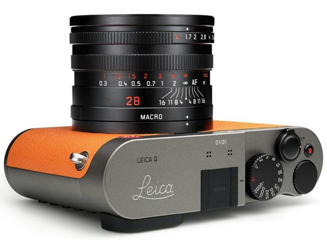 東京銀座 GINZA SIX 開幕  Leica Q 限量版新機橙皮贈興