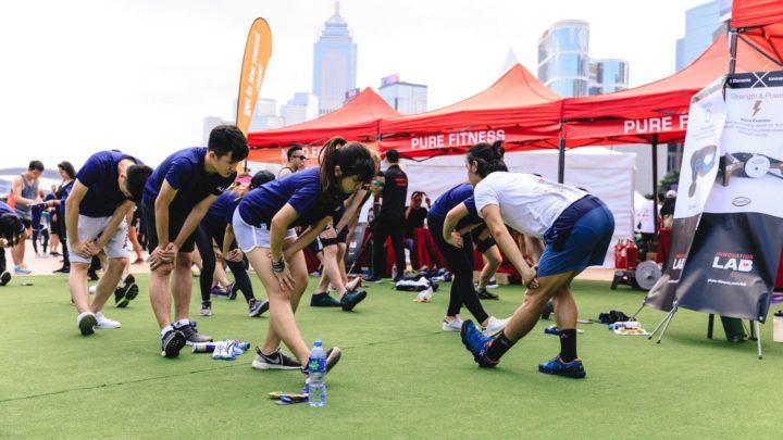 PURE PLAYGROUND@SummerFest 中環夏誌節目  再次集體玩 Yoga
