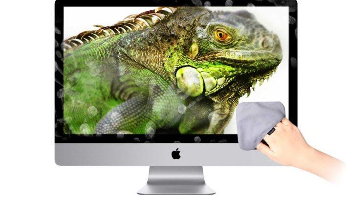 立即變清亦得,得咗! Moshi TeraGlove 超細纖維螢幕擦拭套