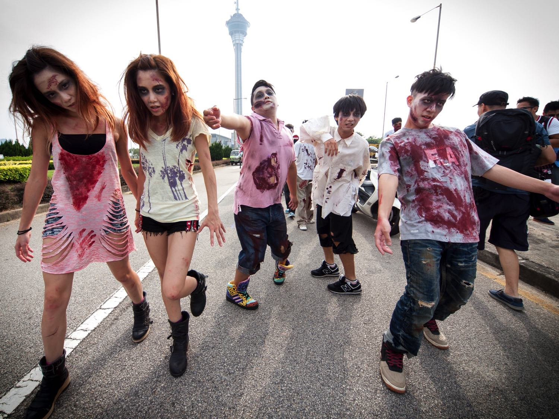 Halloween 新活動  Fashion Walk「 Zombie Walk 喪 Z 行」合辦慈善定向大賽