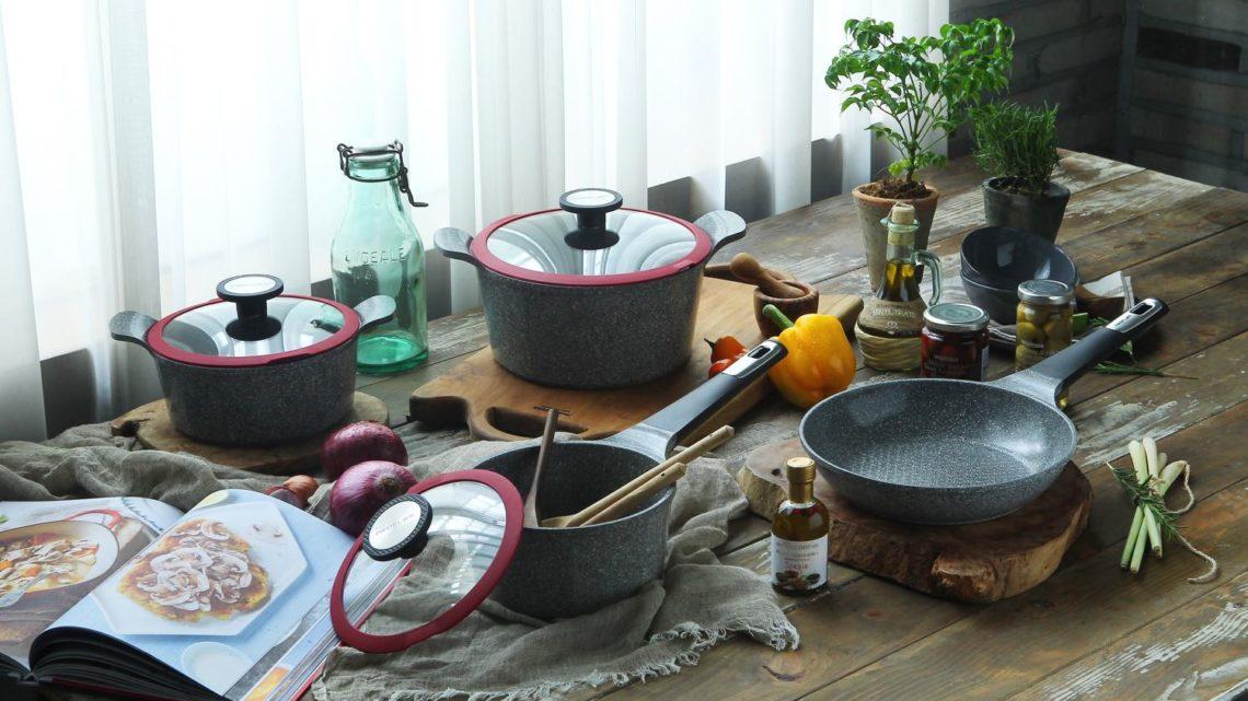 韓國製 Neoflam POTE 樸岩養生鍋系列  專利 Xtrema Coating 不沾塗層硬度夠高