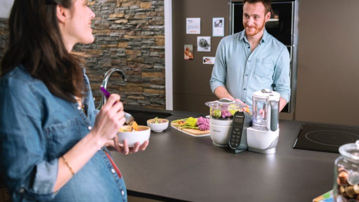 Babymoov Nutribaby + 蒸煮食物攪拌機  攪碎即煮夠新鮮