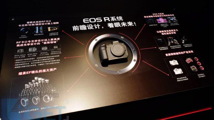 Canon 發布全片幅無反 EOS R 及 RF 接環  開價 HK$17,480 更吸引