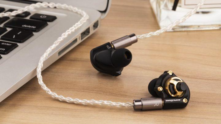 純鋁、黃銅、不鏽鋼    Acoustune HS1600 系列併合不同音色