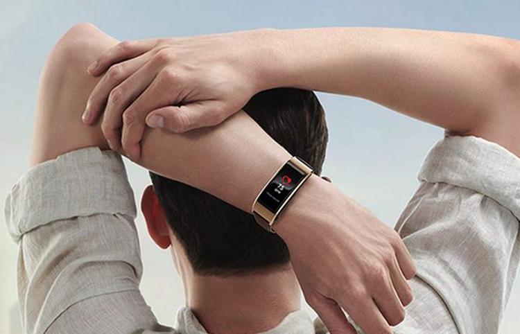 藍牙耳機+健康監測  Huawei 第四代 Talkband B5 智能手帶