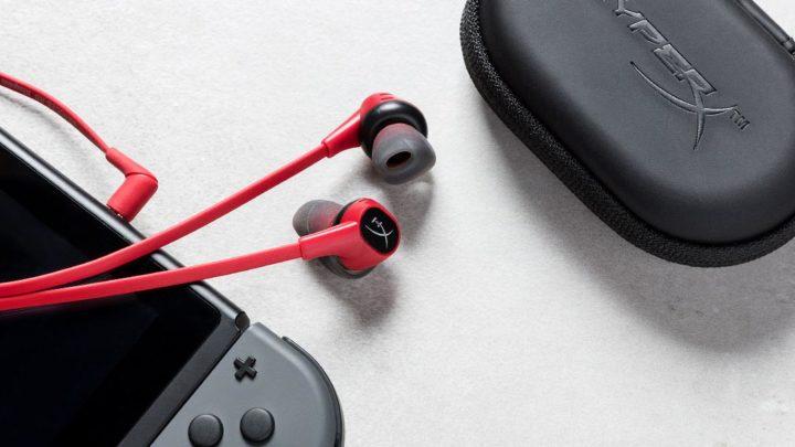 專為 Switch 及手遊玩家打造 HyperX 首款入耳式耳機 Cloud Earbuds 開賣