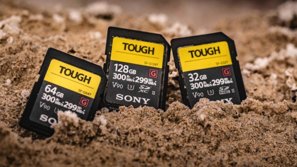 SD 記憶卡都要防水防跌  Sony 推出 SF-G 系列 TOUGH 規格 SD 卡