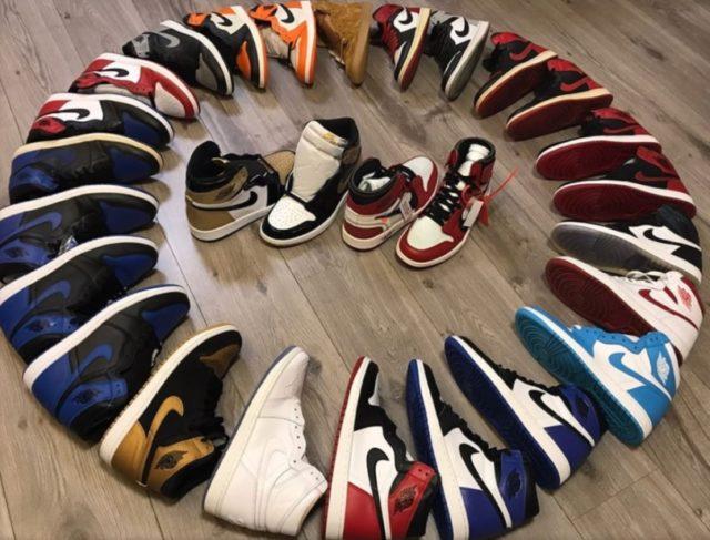 「潮物 collector 展及週日 Flea Market」珍藏 Air Jordan 1 特別版 400% Be@rbrick 晒冷