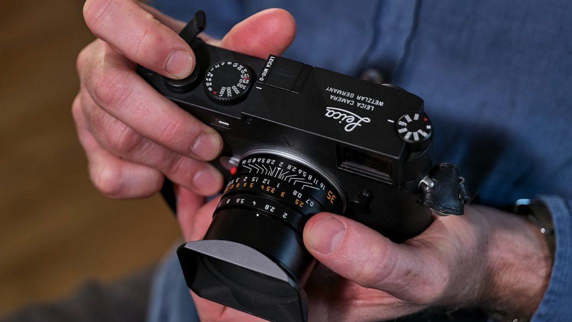 數碼機飛芒扮菲林機?   Leica M10-D 靠 WiFi 駁手機睇相