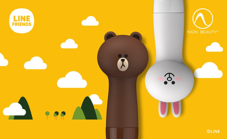 Nion Beauty X LINE FRIENDS   全球首個 LINE FRIENDS 造型潔面儀