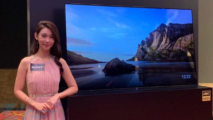 Sony 推出 MASTER Series 4K 電視  新影像處理器優化 HDR 強化細緻度