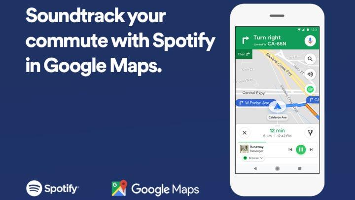 Spotify X Google Maps  一路導航同時聽歌一 App 過做齊